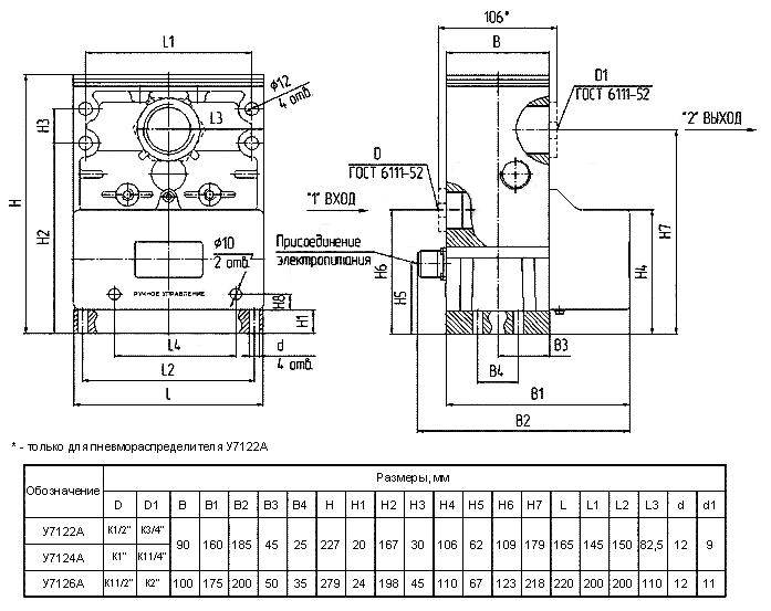У7124А, У71-24А, У71-22А, У71-24А
